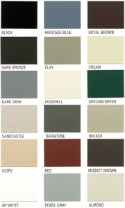 gutter color chart affordable quality roofing va