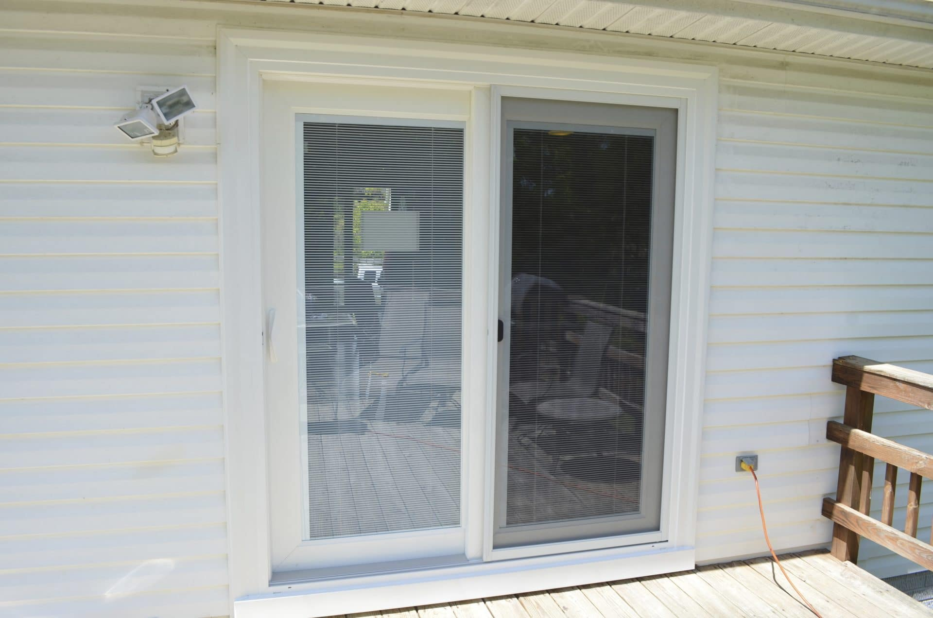 New Patio Door Affordable Quality Roofing Virginia