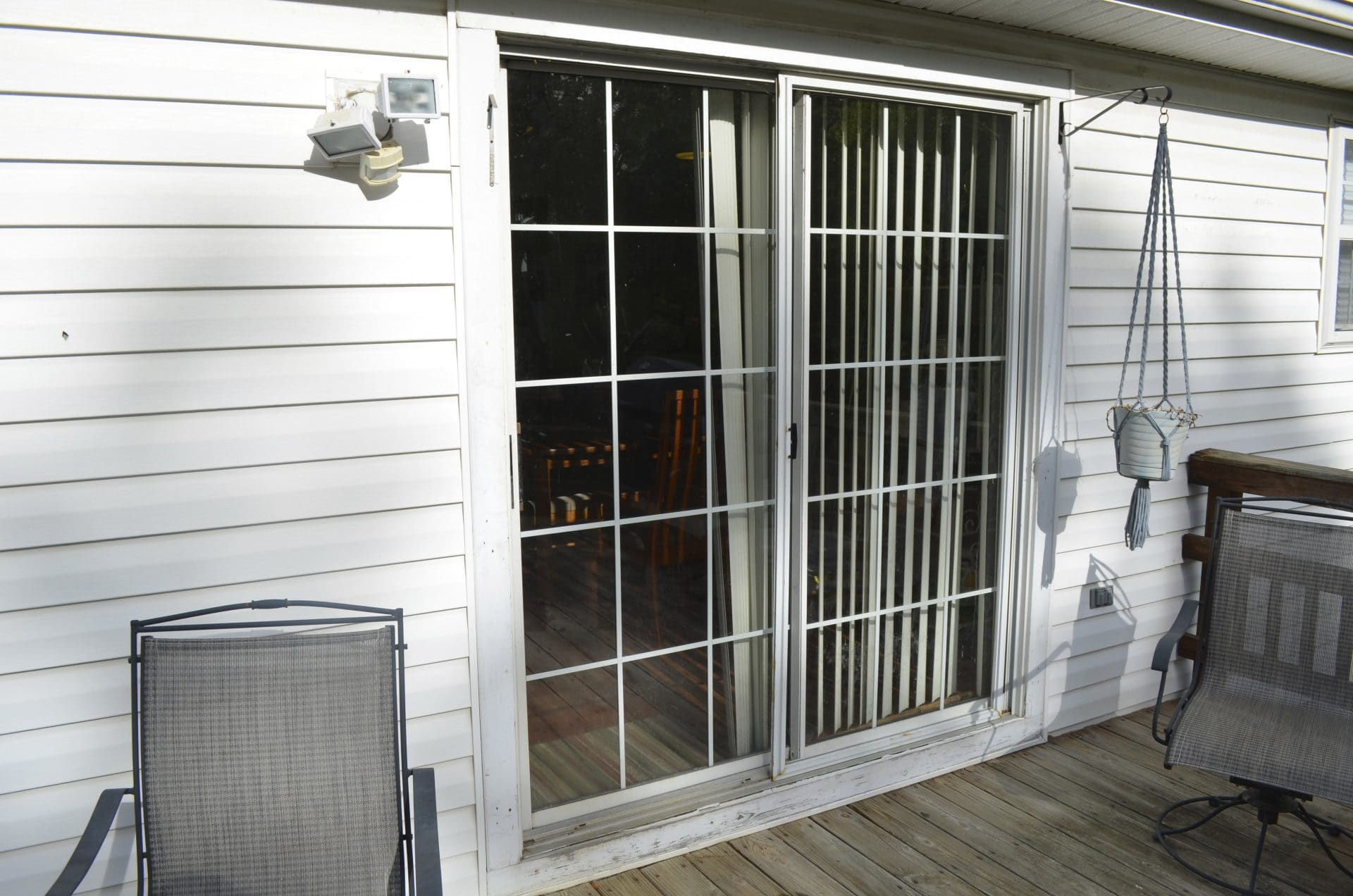 Old Patio Door Affordable Quality Roofing Virginia