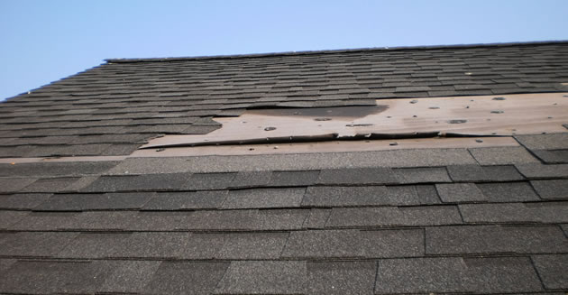 storm damage roof repairs